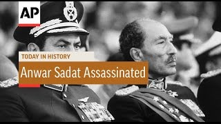 Anwar Sadat Assassinated - 1981 | Today in History | 6 Oct 16