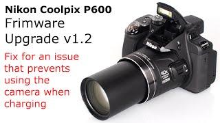 Nikon Coolpix Firmware Upgrade Youtube