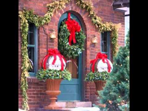 Easy DIY Outdoor christmas decorations ideas - YouTube - christmas decorations for outside