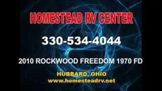 2010 Rockwood Freedom #1970 Fold Downtravel Trailer Rv Ohio Camper Dealer Www.homesteadrv.net