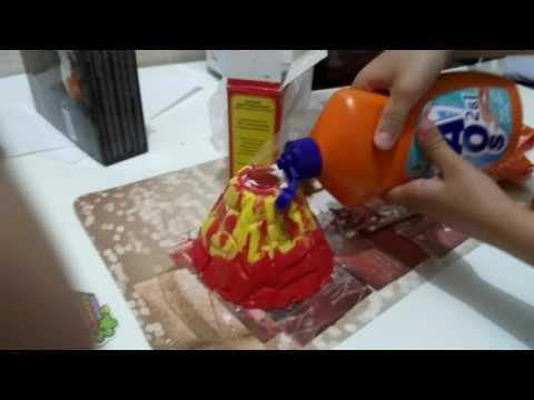 Как сделать вулкан в домашних условиях скачать