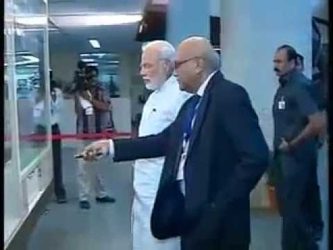 PM Narendra Modi visits Bhabha Atomic Research Centre (BARC)