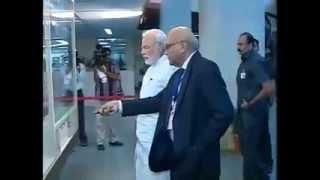 PM Narendra Modi visits Bhabha Atomic Research Centre (BARC)