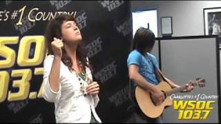 "103.7 WSOC: Mallary Hope sings ""Love Lives On"""