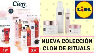 NUEVA COLECCION LIDL CLON EXACTO DE RITUALS