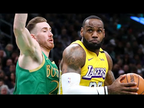 Los Angeles Lakers vs Boston Celtics Full Game Highlights | January 20, 2019-20 NBA Season