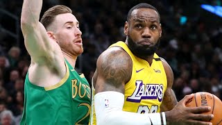 Los Angeles Lakers vs Boston Celtics Full Game Highlights | January 20, 2019-20 NBA Season