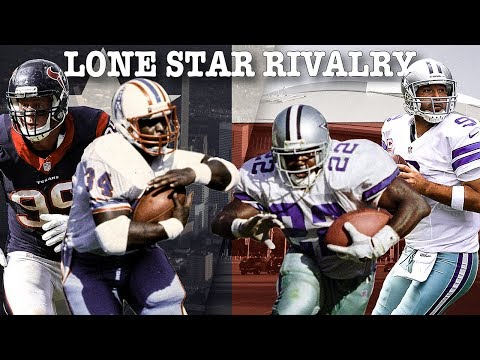Lone Star Rivalry: The Epic Tale of Dallas vs. Houston | NFL Throwback