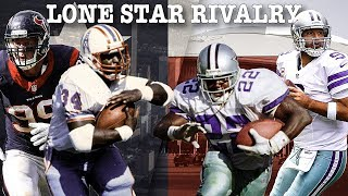 Lone Star Rivalry: The Epic Tale of Dallas vs. Houston | NFL Throwback thumbnail
