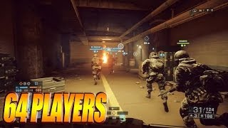 Battlefield 4 - WOW 64 Players / PS4 1080p Gameplay