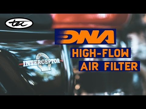DNA High-Performance Air Filter - Installation Guide for Royal Enfield 650 Twins
