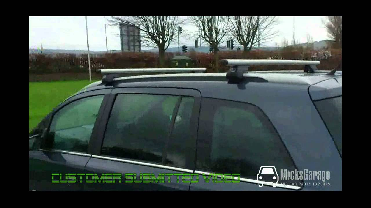 Opel Vauxhall Zafira Roof Rack From Micksgarage Com Youtube