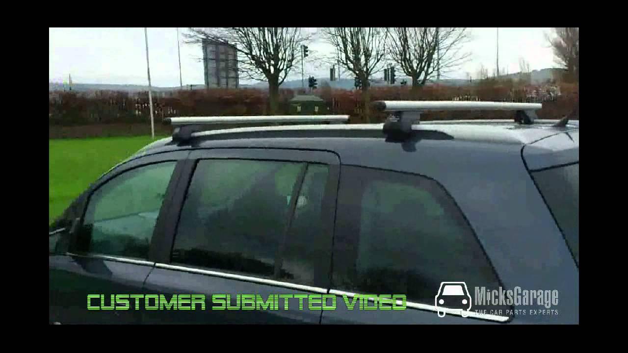 Opel / Vauxhall Zafira Roof Rack From MicksGarage - YouTube