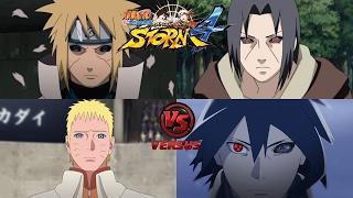 minato edo tensei y naruto rtb vs itachi edo tensei y sasuke rtb   nsuns4 road to boruto latino