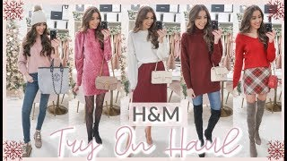 H&M WINTER TRY ON HAUL 2019 ❄️