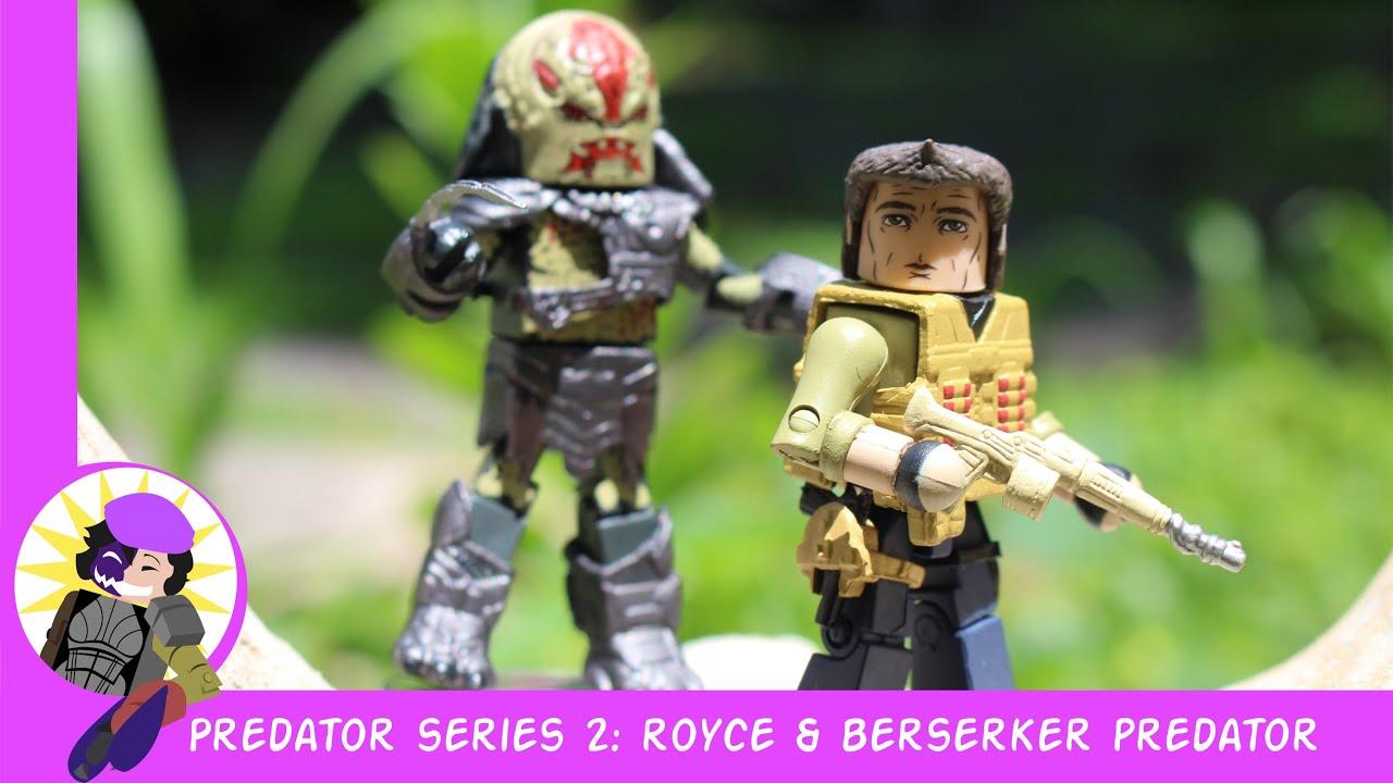 Minimate Predator Series 2 Royce Figure