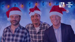 Hear Jimmy Kimmel, Jimmy Fallon, and Stephen Colbert Sing a Christmas Carol Together