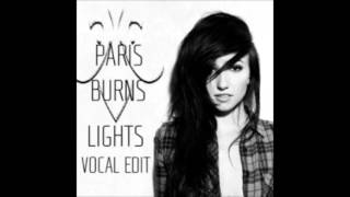 LIGHTS - Everybody Breaks a Glass ELECTRO MIX (Paris Burns Remix)