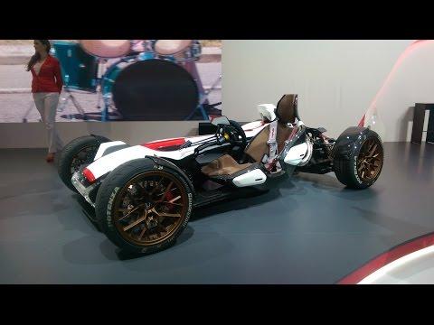 Honda's motorbike-engined track car at Frankfurt 2015