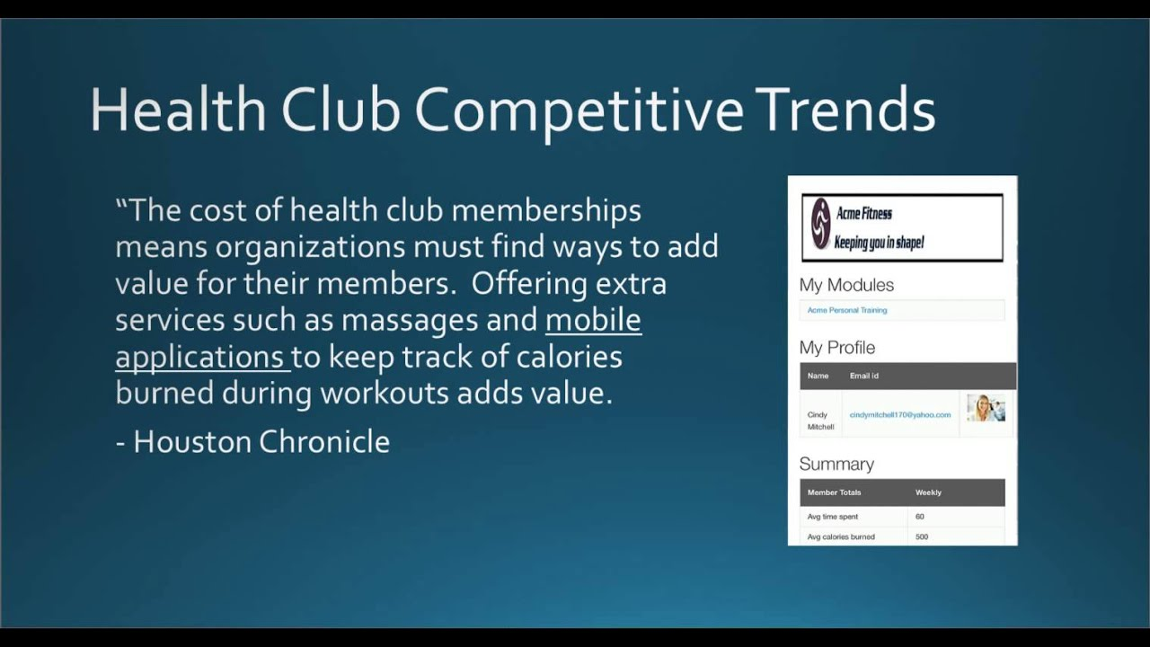 Fitness Industry Trends and Health Club Marketing Strategies - YouTube