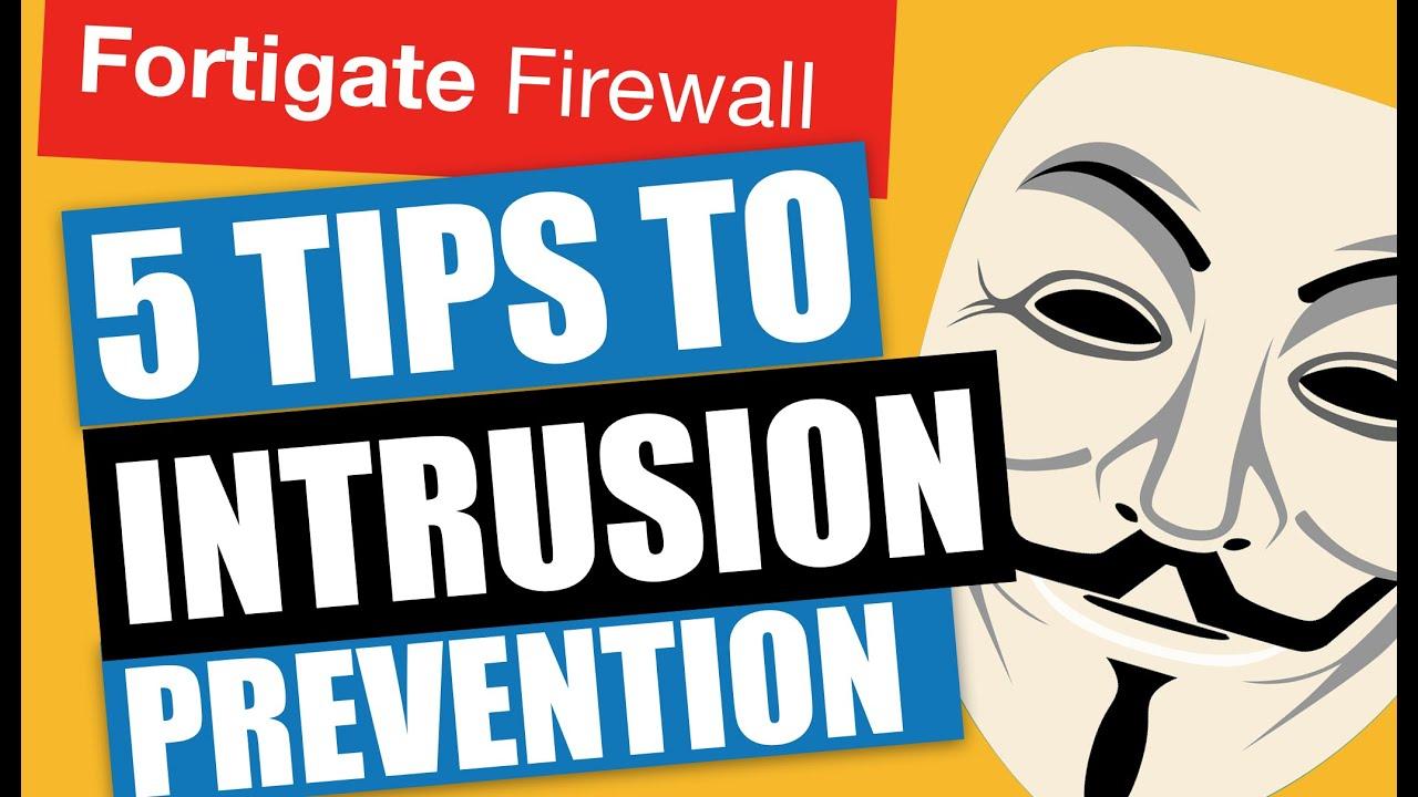 5 tips to Intrusion Prevention - fortigate 2019, Видео