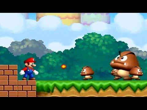Dibujos Animados Para Niños Mario Bros Saltando Para Llegar A Casa Youtube