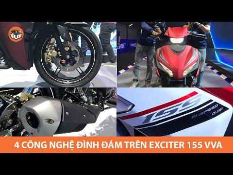 4 CÔNG NGHỆ ĐÌNH ĐÁM giúp Yamaha Exciter 155 VVA vượt lên mọi đối thủ (Exciter 155 Hightlights)