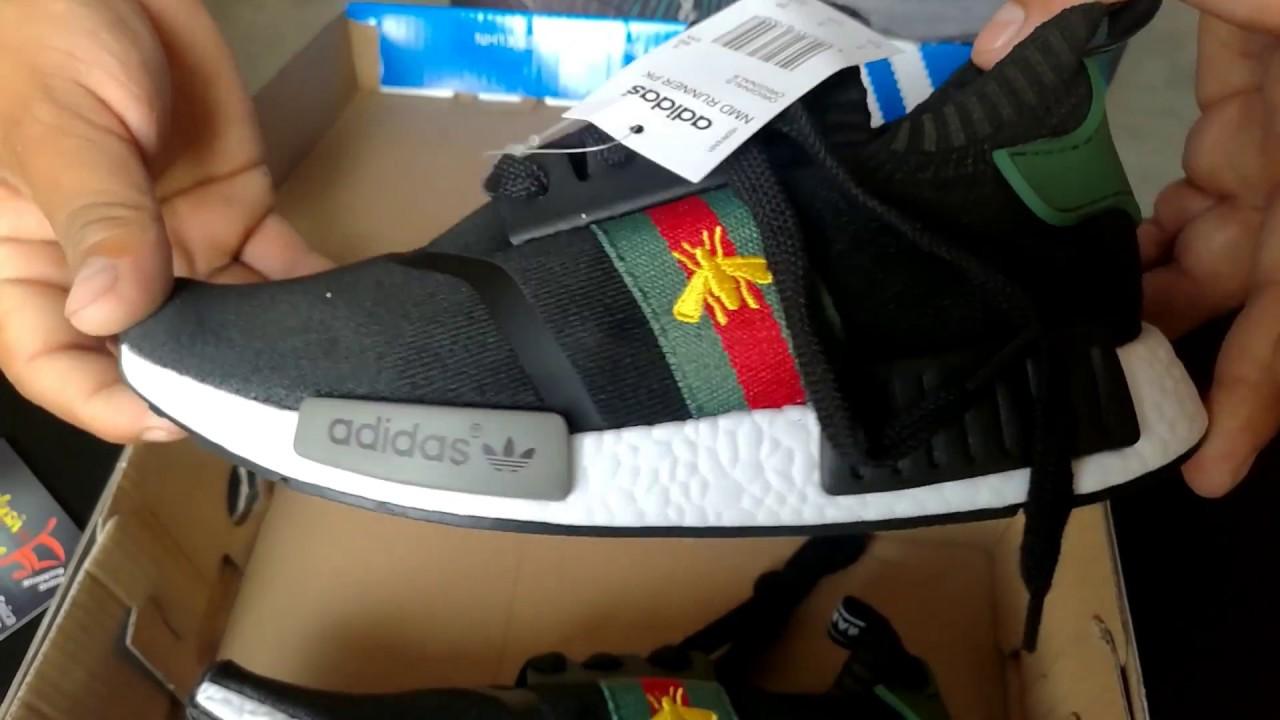 597fa97dd Zapatillas Adidas NMD   GUCCI - YouTube