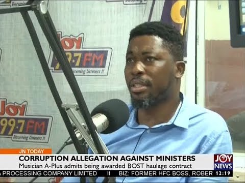 Corruption Allegation Against Ministers - Joy News Today (30-8-17)