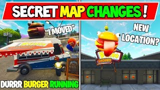 "*NEW* FORTNITE SECRET MAP CHANGES! ""DURRR VS TOMATO HEAD STORY"" FULL Fortnite Season Storyline!"