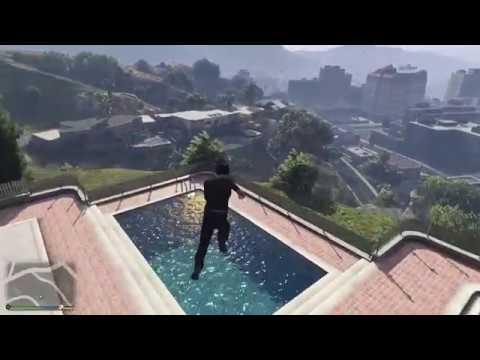 GTA 5 Havuza Bombalama Atlama