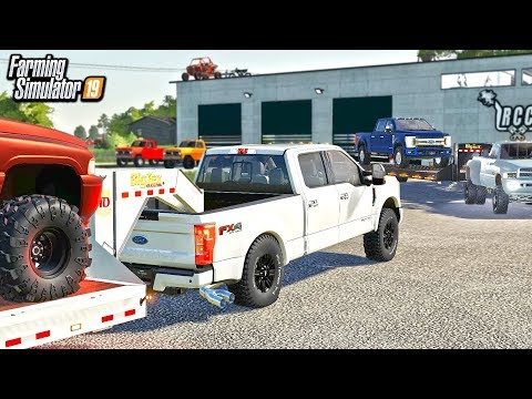 HOLY SQUAT! RCC GETS NEW TRUCKS DELIVERED TO THE DEALERSHIP | FARMING SIMULATOR 2019
