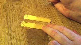 American Vs. French File Cut Clarinet Reeds (Rico Vs. Vandoren)
