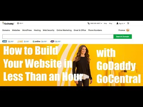 Build Your Website in Less Than 1 Hour with GoDaddy GoCentral