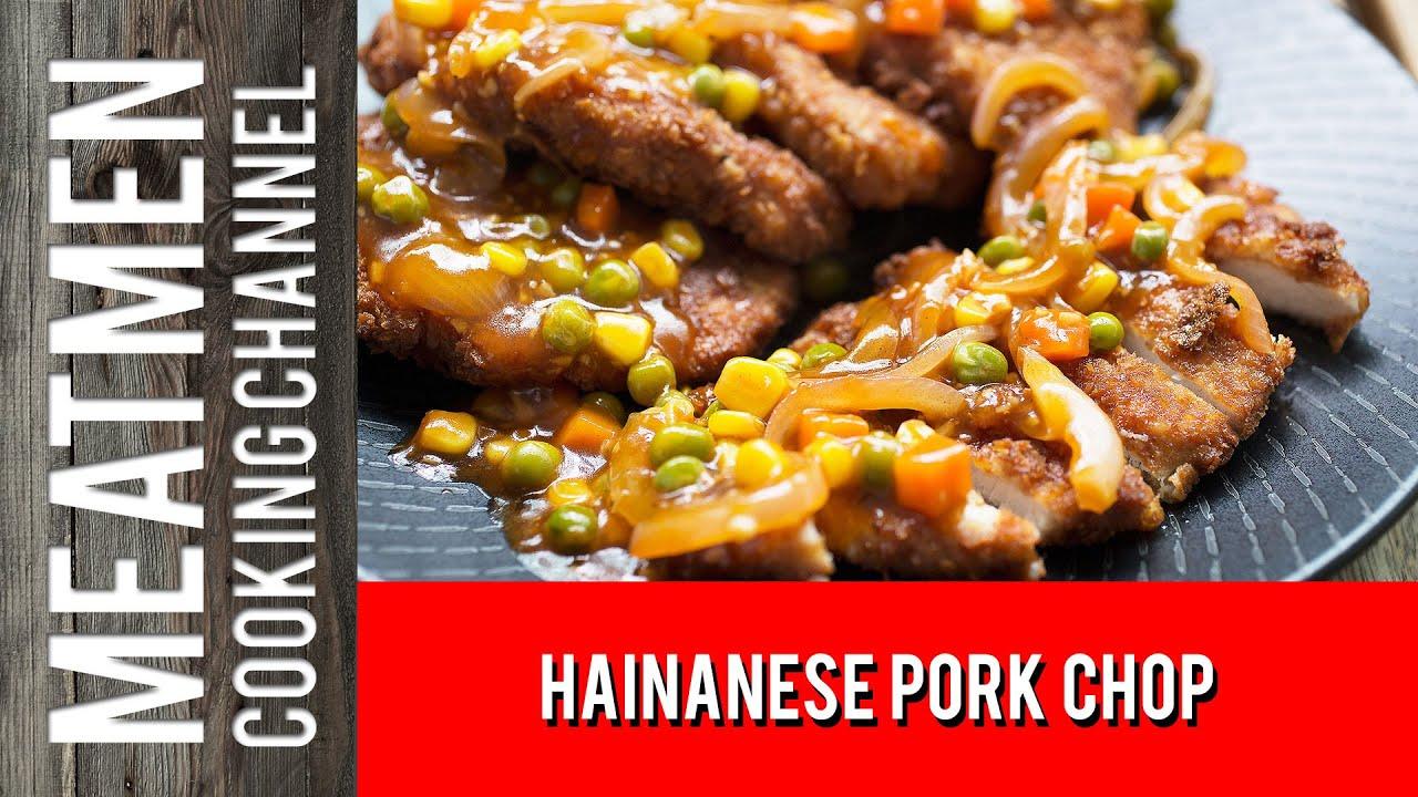 Recipe for hainanese pork chop