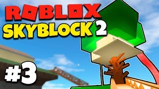NICE WOODEN HOUSE! #3-English Roblox: Skyblock 2