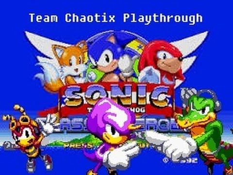 Sonic Classic Heroes [Team Chaotix]