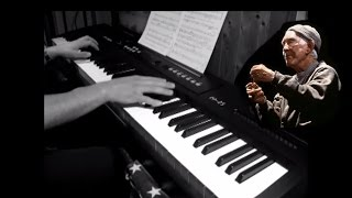 Rocky - Mickey Theme - Piano