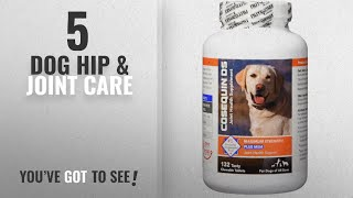 Top 10 Dog Hip & Joint Care [2018 Best Sellers]: Nutramax Cosequin DS Plus with MSM Chewable