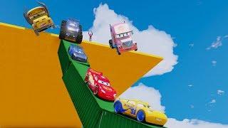 Cars 3 Colors Jackson Storm Disney Cars 3 Fabulous McQueen And Cruz Ramirez Miss Fritter Mater