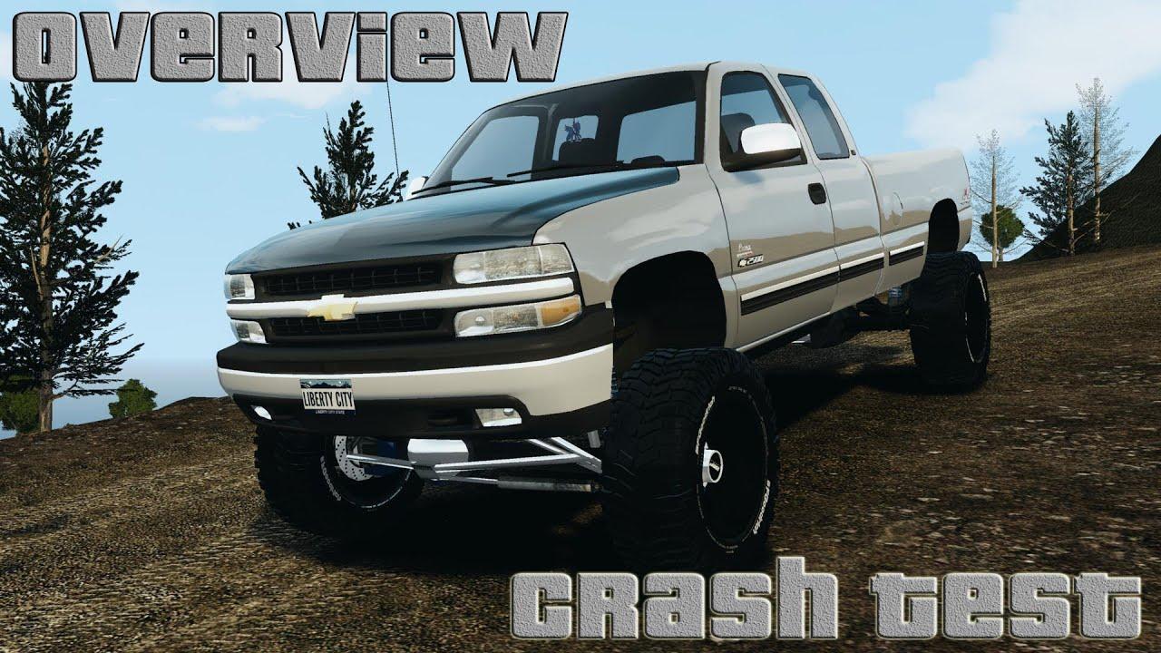 Chevy Silverado Jacked Truck
