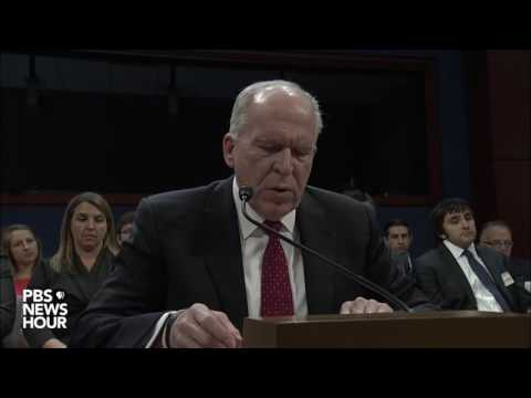 ✅Former CIA Director John Brennan testimony on Trump/Russia before House Intelligence FULL 5/23/17
