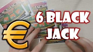 GRATTAGE DE 6 BLACK JACK AVEC GAIN 💰💰