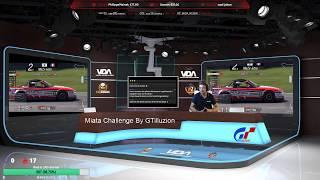 Live Gran Turismo Sport Miata Challenge By GTilluzion | Manche 2