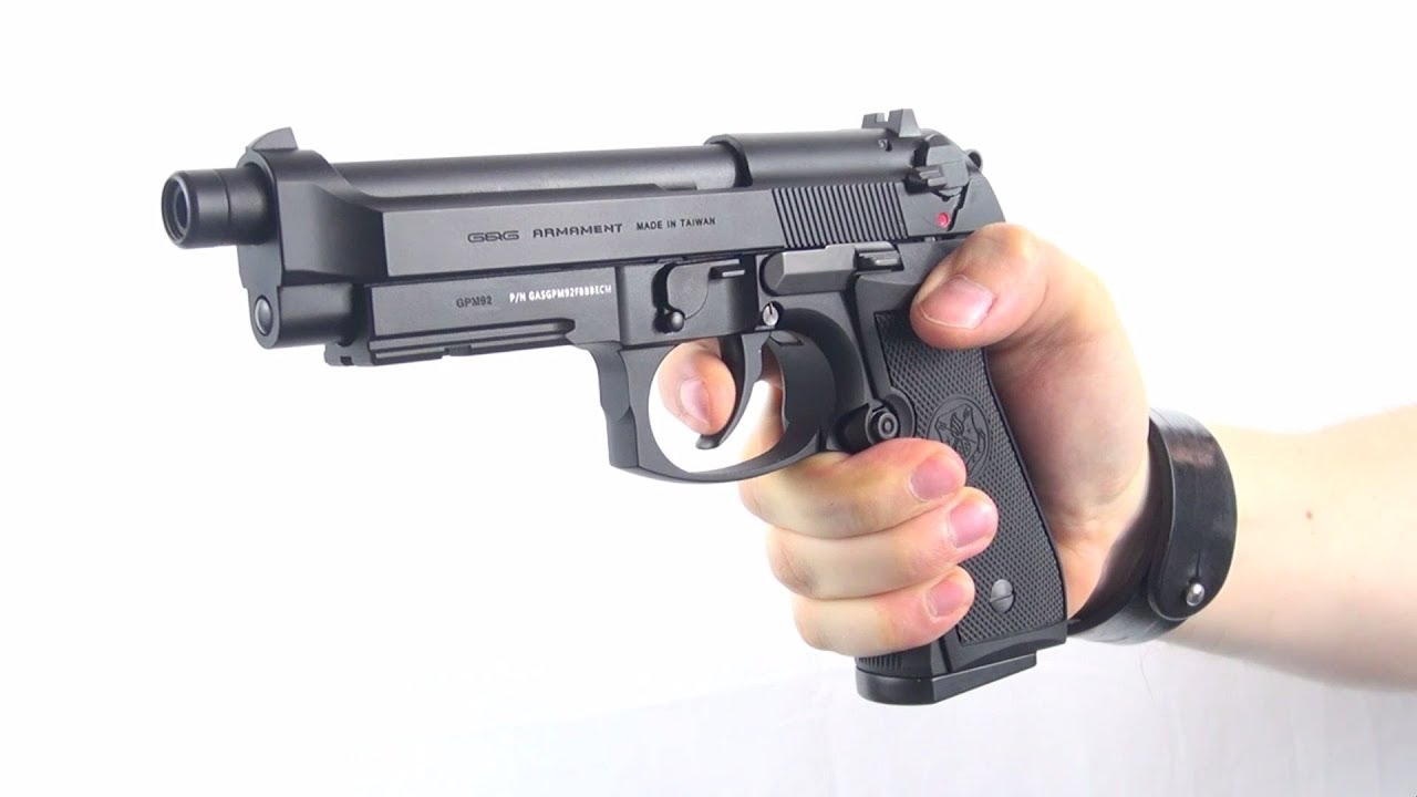(Airsoft) GPM92 G&G - YouTube