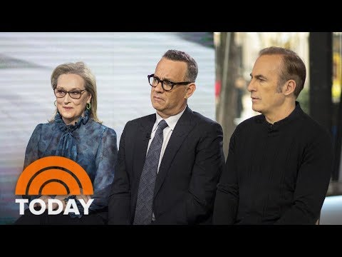 Meryl Streep, Tom Hanks And Bob Odenkirk Talk About 'The Post'   TODAY