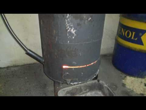 Гараж печка буржуйка