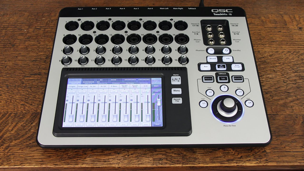 Qsc Touch Mix : qsc touchmix 16 first look youtube ~ Vivirlamusica.com Haus und Dekorationen
