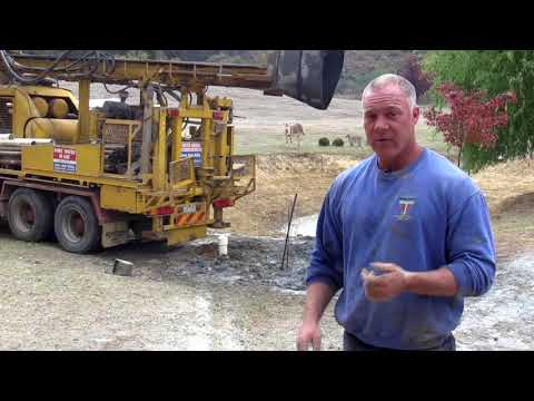 Water bore drilling tutorial