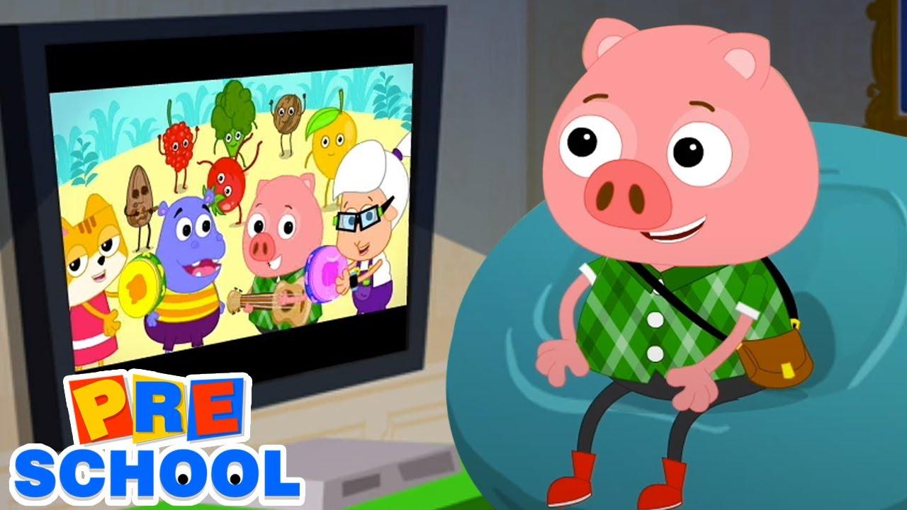 Este Cerdito | Canciones infantiles | Videos educativos | Musica para bebes | Dibujos animados